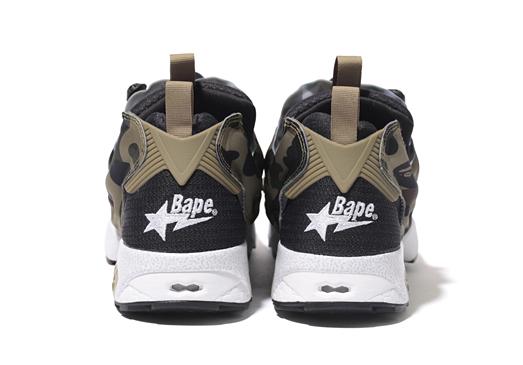 3939e556a52d7 Reebok CLASSIC x A BATHING APE® x mita sneakers: INSTA PUMP FURY OG ...